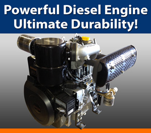 Powerful Diesel Engine